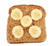 PB Toast Bananna Crop