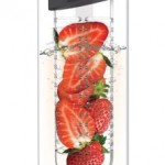 Asobu Flavor it 20 oz Glass Water Bottle and Fruit Infuser