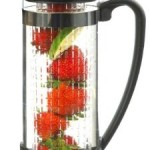 GROSCHE Atlantis Water and Fruit Infusion Borosilicate Glass Pitcher