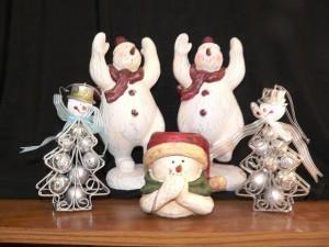 Praising Snowmen