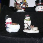 Snowman Candles 1