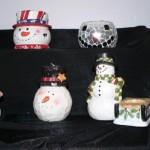 Snowman Candles 2