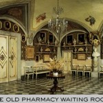 Old Pharmacy waiting room