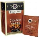 tea stash chocolate hazlenut decaf