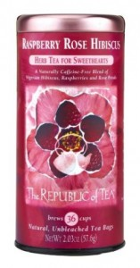 republic of tea raspberry rose hibiscus