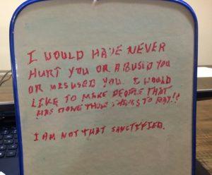 board note