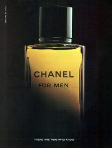 chanel for men