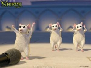 Shrek singing mice